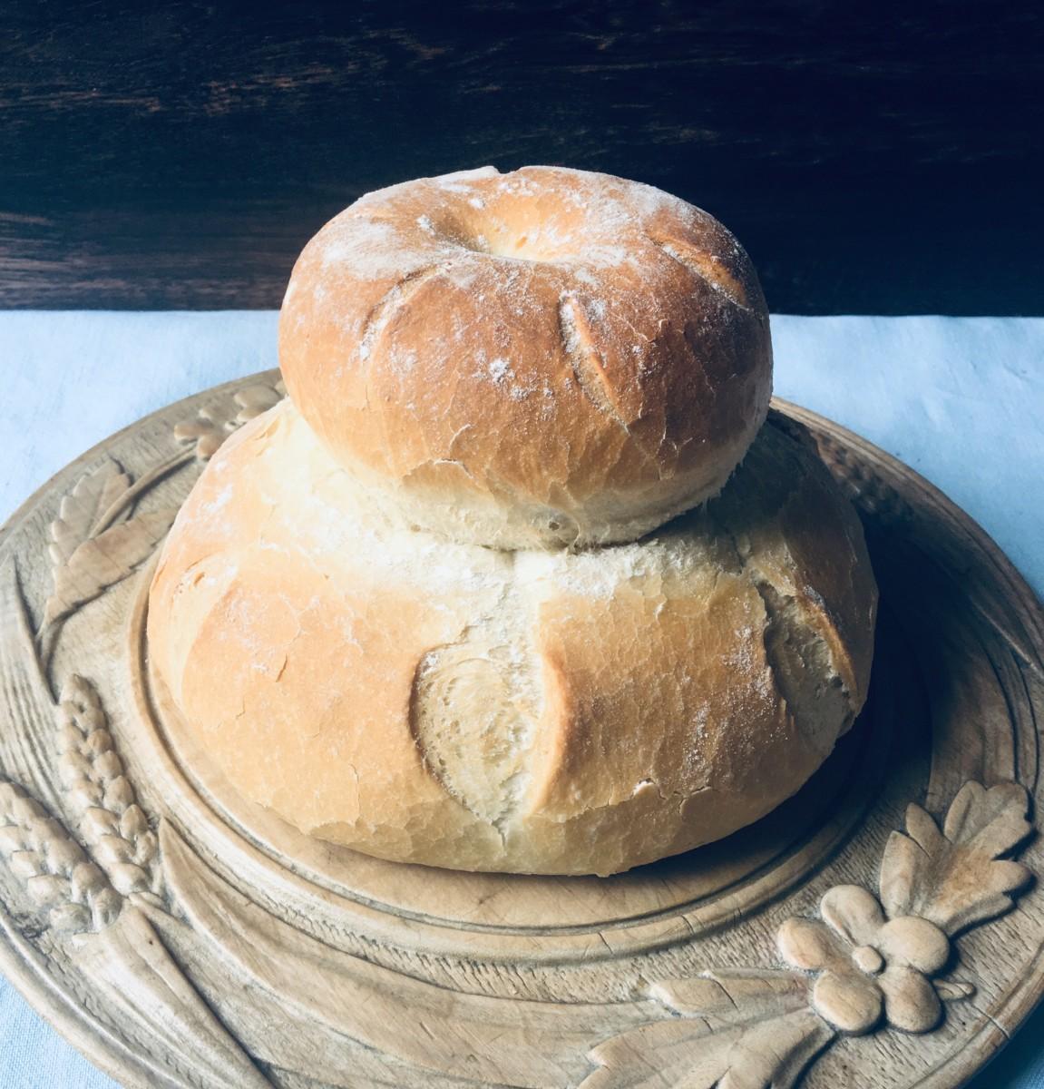 Bread_Cottage Loaf